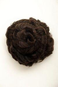 Haarteil-Haarrose-Haardutt-Dutt-Bun-braun-spiralfoemig-14-cm-90047L-6