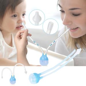 Baby-Neonati-nasale-Muco-aspirazione-a-vuoto-ASPIRATORE-neonato-Naso-Pulitore-Snot-POMPA