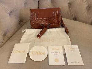 Chloe-Marcie-Glossy-Leather-Convertible-Belt-Crossbody-Bum-Bag-Clutch-Brown-NWT