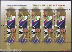 CARIBISCH-NEDERLAND-2015-NVPH-69-78-SINT-EUSTATIUS-KONING-WILLEM-ALEXANDER