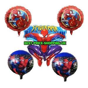 18-034-Giant-Spiderman-Superhero-Marvel-Foil-Balloon-Helium-Party-Birthday-baloons
