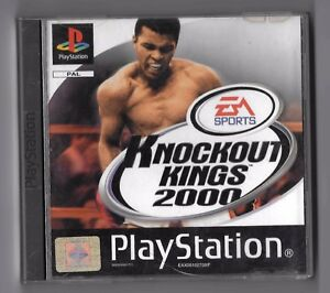 SONY-PlayStation-GAME-EA-Sports-KNOCKOUT-KINGS-2000-MANUAL-CASE