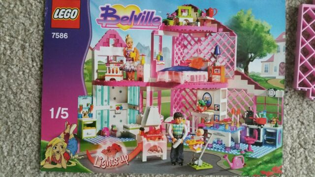 LEGO Belville Sunshine Home 7586 Complete Set And Instructions