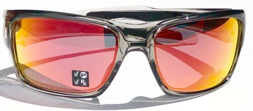 6e60f07fc8 2 of 12 NEW  Oakley TURBINE Grey Ink frame POLARIZED Ruby Iridium Lens  Sunglass 9263-10