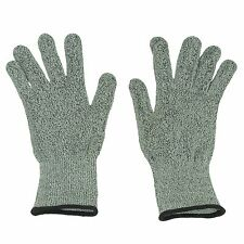 Safety Cut Proof Stab Resistant Woven Mesh Butcher Gloves Kitchen Safety PPE L