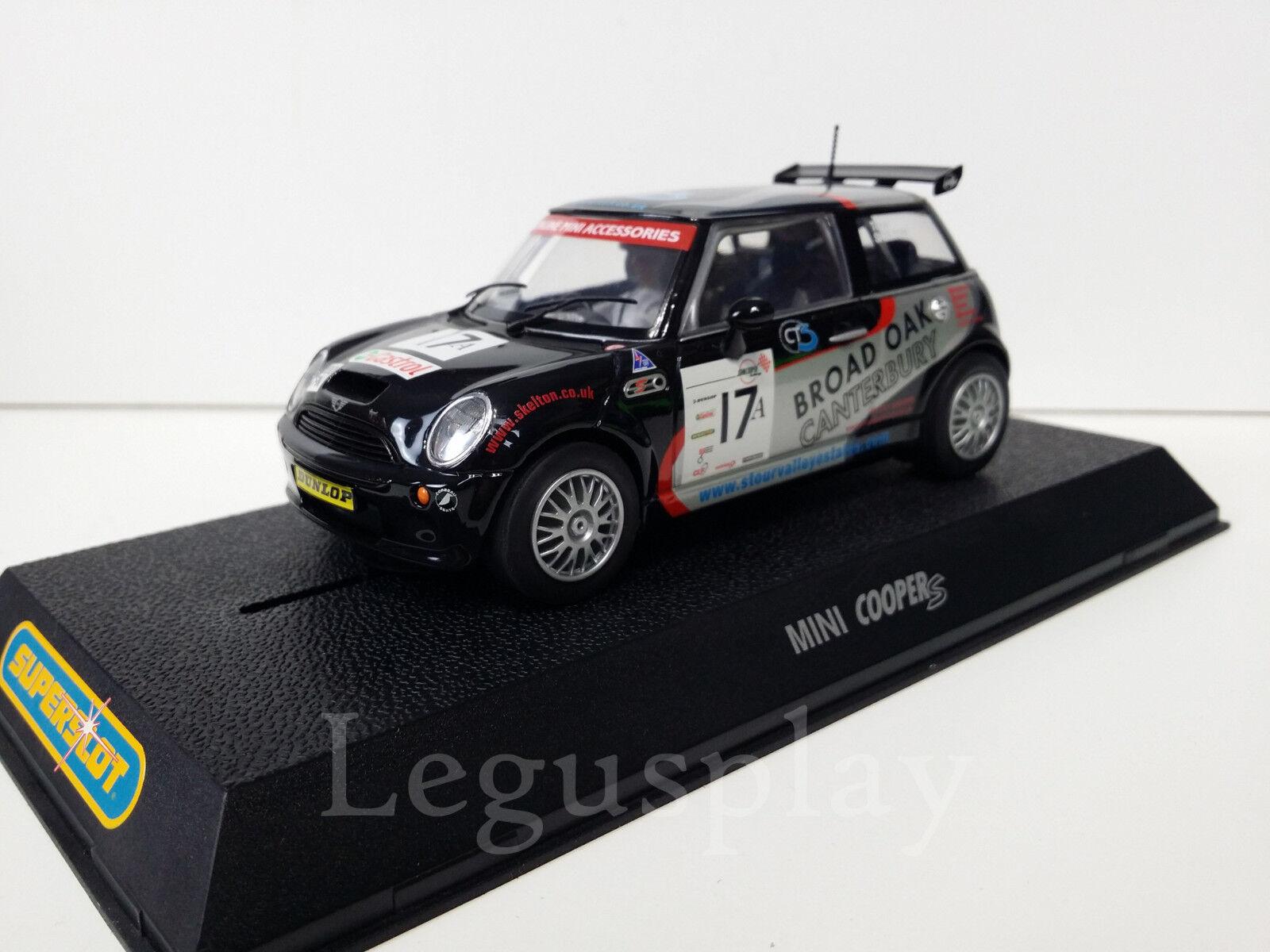SCX Scalextric Slot SuperSlot H2565 Mini Cooper S Tony SKELTON