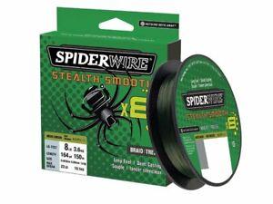 Spiderwire Stealth Smooth 8 Moss Green filo da pesca trecciato 150m