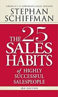 The 25 Sales Habits Of Highly Successful Salespeople By Stephan Schiffman, (pape on sale