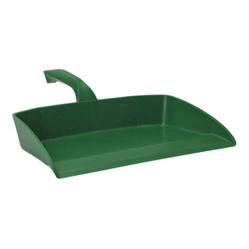 Hand Held Dust Pan,Green,Polypropylene 56602