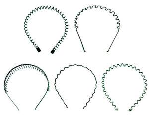 Black-Metal-Wave-Style-Alice-Sports-Hairband-Headband-Hair-Band-Men-Women-Unisex