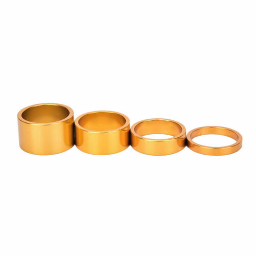 Headset Alloy Spacers Set Aluminum 5//10//15// 20mm MTB Bicycle 28.6mm Front Fork