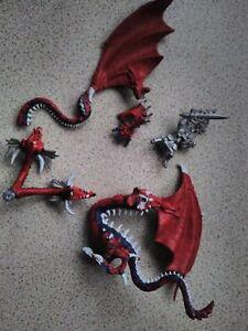 Warhammer Job Lot Chaos Gobelin Roi Dragon Elfe Egrimm Van Hortsmann 2pictures