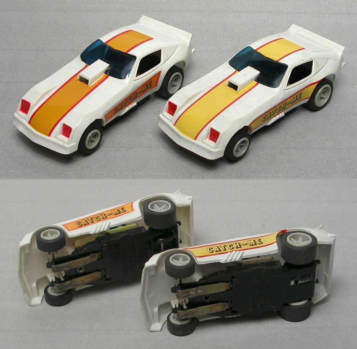 2 matchbox 1979 Attrape-Master Edition Monza Drôle Voiture ho slot car 12 V variations 3742 Inutilisé