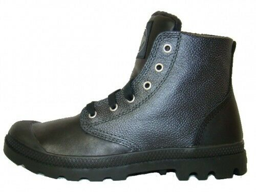 Leather Shoes Black 02355033 Leather Boots Nuevo Hi Pampa Palladium Boots wFqYgxIT4