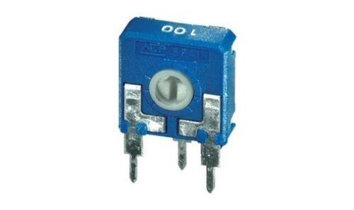 AB//103100 4pz trimmer 14x14 100 KOhm verticale regolazione con cacciavite cod