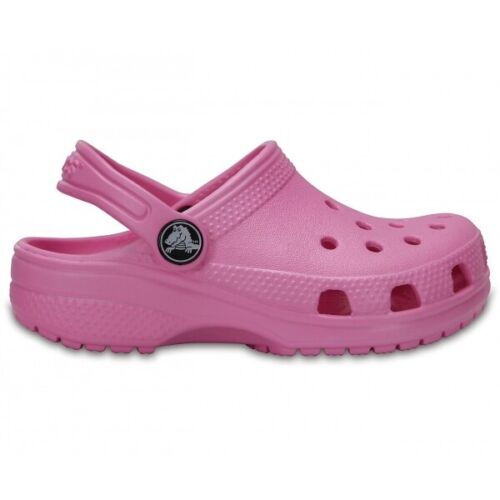 Crocs 204536 CLASSIC CLOG Kids Spring Summer Flexible Cushioned Clogs Carnation