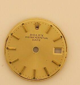 Rolex original Lady gold dial, Date model
