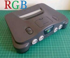 Nintendo-64-N64-CONSOLE-RGB-MOD-THS7374-AMP-NTSC-J-NTSC-U-100-SELLER