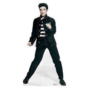 Elvis Presley Jailhouse Rock LIFESIZE CARDBOARD CUTOUT standee standup The King