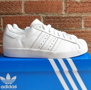 timeless design cf677 e669c Details about Mens Adidas superstar 80s size 10 UK S79443 white