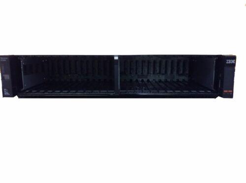 """IBM 2076-224 Storwize V7000 24-Slot 2.5/"""" HDD Hard Drive Expansion Enclosure"""