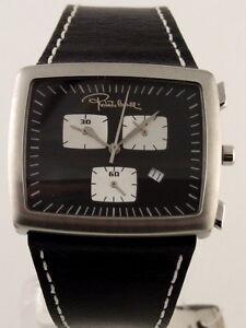 roberto cavalli rettangolo chronograph men 039 s watch by sector image is loading roberto cavalli rettangolo chronograph men 039 s watch