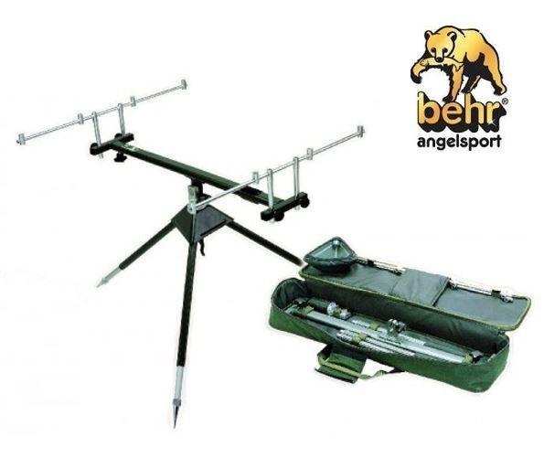 Behr rotCarp Aluminium Rod Pod 3-Bein für 4 Ruten Ruten Ruten 506aa8