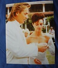 Don Johnson Philip Sheena Easton Miami Vice Wedding  8x10 Collectors Photo Color