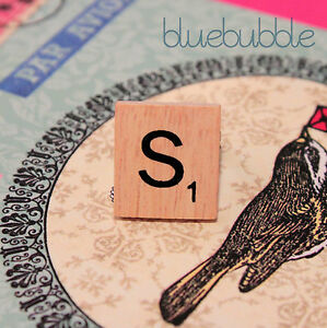 FUNKY-WOODEN-VINTAGE-SCRABBLE-STYLE-SILVER-RING-CUTE-KITSCH-INITIAL-LETTER-BOHO