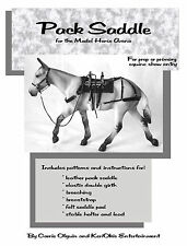 Pack Saddle for the Model Horse Arena Pattern Book