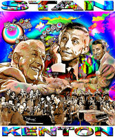 Stan Kenton Tribute T-shirt Or Print By Ed Seeman