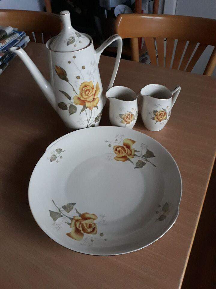 Porcelæn, Kaffekande, flødekande