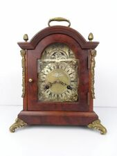 Dutch Vintage Antique Mantel Shelf 8 day Clock (Warmink Hermle Junghans era)