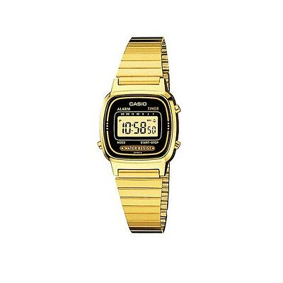 CASIO Collection LA670WGA-1DF Uhr,goldfarben,Digitaluhr,Damenuhr,retro vintage