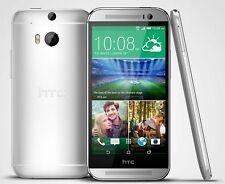 NEW HTC One M8 - 32GB - Classic Silver (Sprint) GSM/CDMA 4G LTE Smartphone