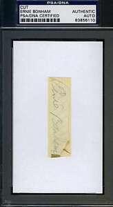Ernie-Bonham-Psa-dna-Certified-3x5-Index-Cut-Signed-Authentic-Autograph