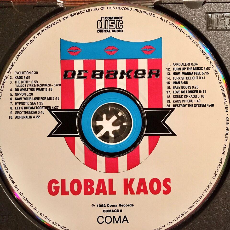 Dr Baker: Global KAOS, techno