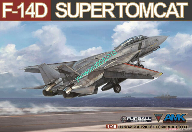 AMK OTHER 88007 1/48 SCALE MODEL F-14D SUPER TOMCAT Fighter PLANE MODEL 2019 NEW
