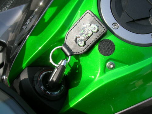 Keyring Simson Schwalbe Green Moped Art 1029 Motorbike Moto