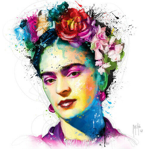 FRIDA KAHLO BY PATRICE MURCIANO ROCK SLATE ART PRINT OFFERED IN 3 SIZES