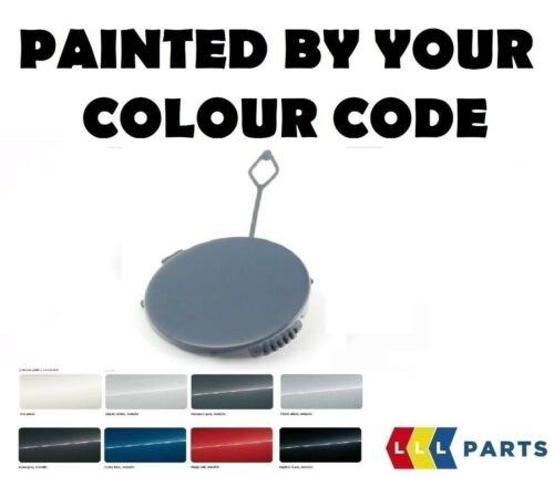 MINI NEW COUNTRYMAN R60 REAR TOW HOOK EYE CAP LEFT PAINTED BY YOUR COLOUR CODE
