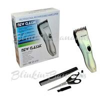 CORDLESS RECHARGEABLE GROOMING MENS HAIR BEARD TRIMMER CLIPPER SHAVER CUTTER SET
