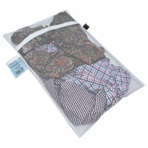 Industrial Quality LARGE NET WASH BAG Zipped /& Lockable 49x49cm UK SELLER 3545-1