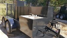 Big Foot Bbq Smoker Sink Grill Trailer Food Truck Mobile Catering Concession