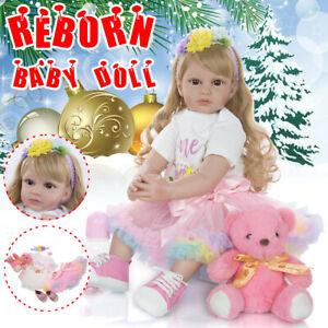 24-039-039-Handmade-Lifelike-Newborn-Silicone-Reborn-Girl-Baby-Doll-w-Clothes-Toy-Gift