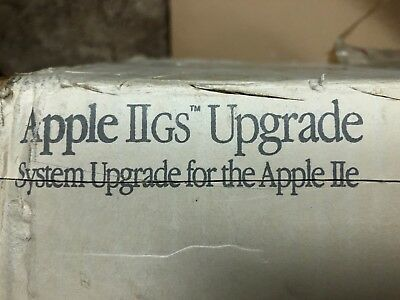 ** Rare ** Apple Iigs Upgrade Kit For Iie (stealth Gs)