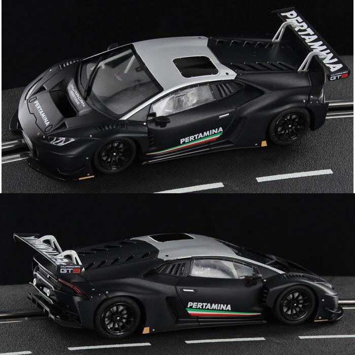 Racer Sideways Lamborghini Huracan GT3 Carbon Special Edition Slot Car 1 32