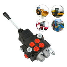 11gpm 2 Spool Hydraulic Directional Control Valve Tractor Loader With Joystick