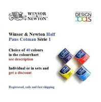Winsor & Newton Cotman Water Colour Half Pan Série 1 - choice of 40 colours