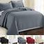 Colcha-Acolchado-Cobertor-Edredon-en-relieve-lecho-solo-doble-King-Size miniatura 1